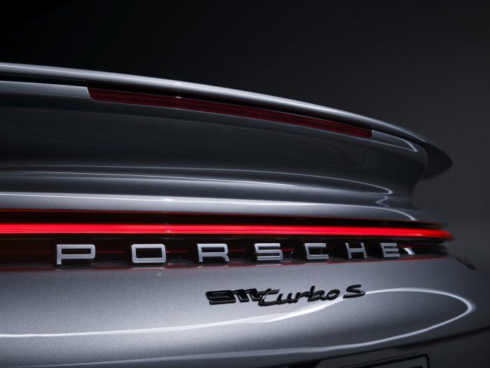 Porsche 911 Turbo S achtervleugel