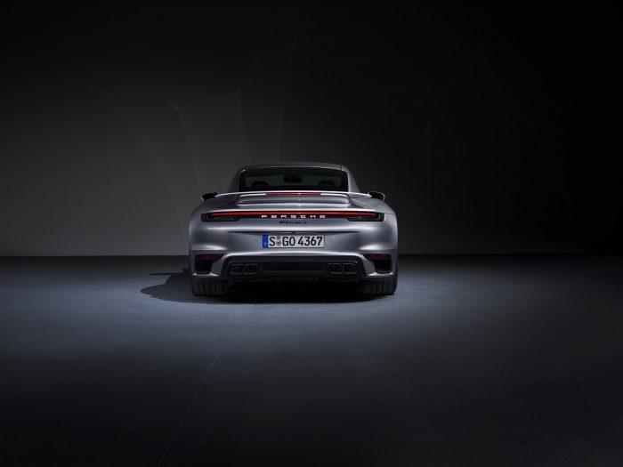 sportuitlaatsysteem van de Porsche 911 Turbo S